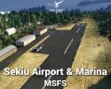 Sekiu Airport & Marina Scenery for MSFS