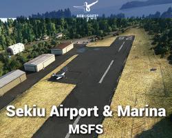 Sekiu Airport & Marina Scenery