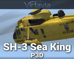 Sikorsky SH-3 Sea King for P3Dv4