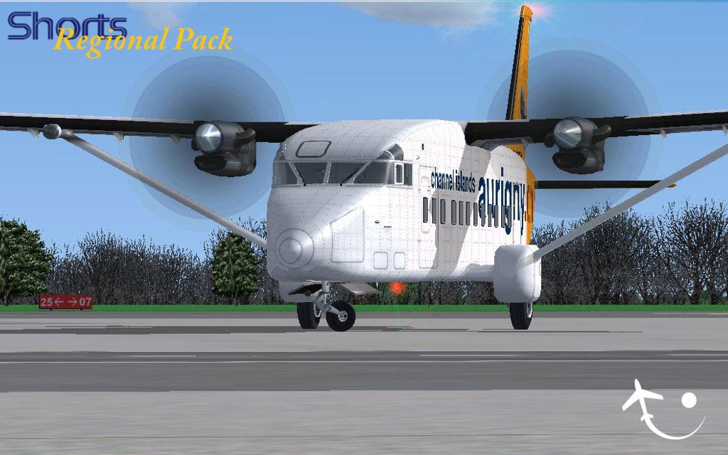 Shorts Regional Pack for FSX/P3D