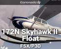 Cessna 172N Skyhawk II Float for FSX/P3D