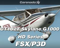 CT182T Skylane G1000 HD Series for FSX/P3D