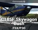"Cessna C185F Skywagon ""Bush"" for FSX/P3D"