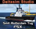 Smit Rotterdam Heavy Tug Boat for FSX