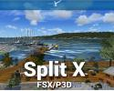 Split X Scenery for FSX/P3D
