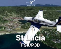 FSDG St Lucia Scenery for FSX/P3D
