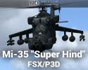 "Mil Mi-35 ""Super Hind"" for FSX/P3D"