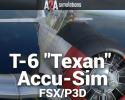 """T-6 """"Texan"""" Accu-Sim for FSX/P3D"""