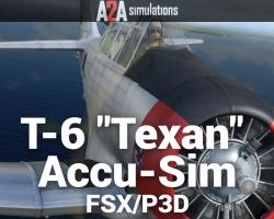 "T-6 ""Texan"" Accu-Sim for FSX/P3D"