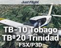 TB-10 Tobago & TB-20 Trinidad for FSX/P3D