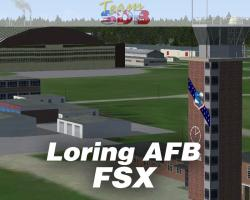 Loring AFB Scenery for FSX/P3D
