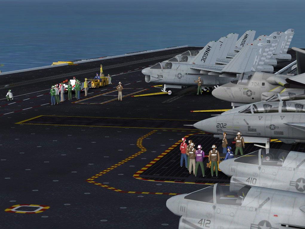 USS Enterprise Aircraft Carrier for FSX/Prepar3D