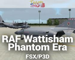 RAF Wattisham Phantom Era Scenery