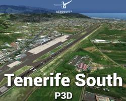 Canary Islands Professional: Tenerife Sur (South) Scenery for P3D