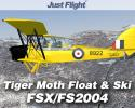 Tiger Moth Float and Ski Double Pack for FSX/FS2004