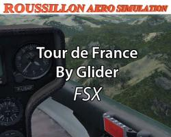 Tour de France by Glider Missions for FSX