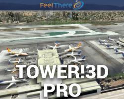 Tower! 3D PRO ATC Simulator Software