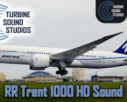 Boeing 787 RR Trent-1000 HD Sound Pack for FSX/P3D