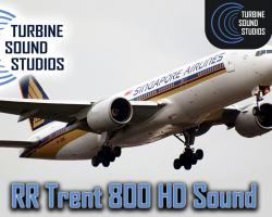 Boeing 777 RR Trent-800 HD Sound Pack