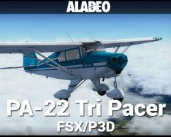 Piper PA-22 Tri Pacer for FSX/P3D