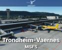 Airport Trondheim-Vaernes (ENVA) Scenery for MSFS
