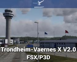 Trondheim-Vaernes X V2.0 Scenery