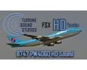 Boeing 747 PW4060 Sound Pack for FSX/P3D