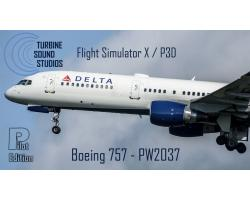 Boeing 757 PW2037 Pilot Edition Sound Pack for FSX/P3D