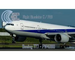 Boeing 777 PW4090 Pilot Edition Sound Pack for FSX/P3D