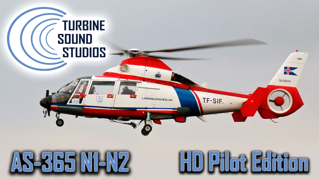 AS-365N1-2 HD Pilot Edition Sound Pack for FSX/P3D