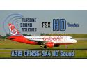 Airbus A319 CFM56-5-4B HD Sound Pack