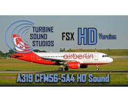 Airbus A319 CFM56-5-4B HD Sound Pack for FSX/P3D