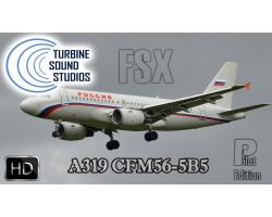 Airbus A319 HD CFM56-5B5 Pilot Edition Sound Pack for FSX/P3D