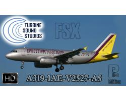 Airbus A319 HD IAE-V2527 Pilot Edition Sound Pack