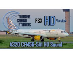 Airbus A320 HD CFM56-5-A1 Sound Pack