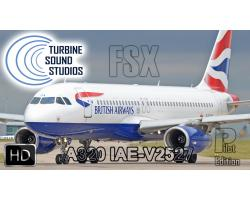 Airbus A320 IAE-V2527 HD Pilot Edition Sound Pack