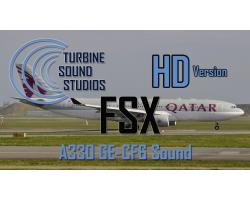 Airbus A330 GE-CF6 HD Sound Pack for FSX/P3D