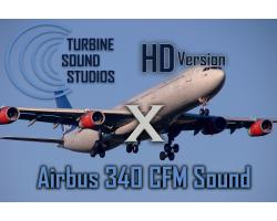 Airbus A340 CFM HD Sound Pack for FSX/P3D