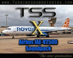Airbus IAE-V2500 Sound Pack for FSX/P3D