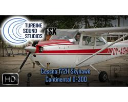 Cessna 172H Skyhawk Pilot Edition Sound Pack for FSX/P3D
