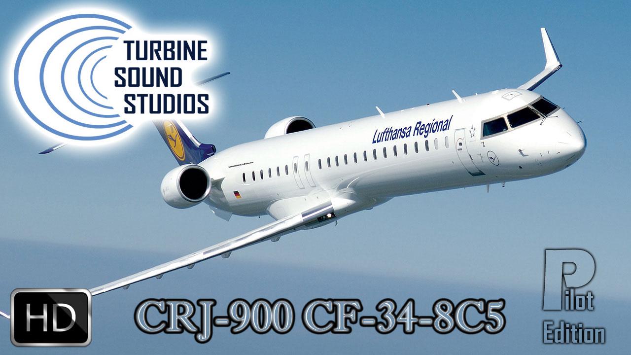 CRJ-900 HD Pilot Edition Sound Pack for FSX/P3D