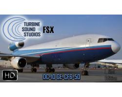 DC-10 GE-CF6 Pilot Edition Sound Pack for FSX/P3D