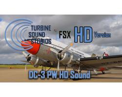 Douglas DC-3 Pratt & Whitney R-1830 Sound Pack for FSX/P3D