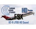 Douglas DC-9 Pratt & Whitney JT8D Sound Pack for FSX/P3D