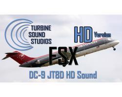 Douglas DC-9 Pratt & Whitney JT8D Sound Pack
