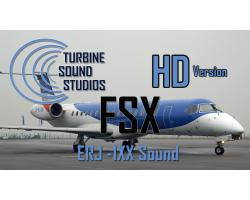 Embraer ERJ-135/140/145 Sound Pack for FSX/P3D