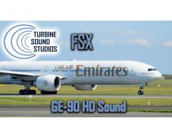 Boeing 777 GE-90 Sound Pack HD