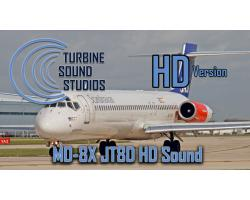 MD-8X Pratt & Whitney JT8D Sound Pack