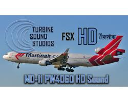 MD-11 PW4460 HD Sound Pack for FSX/P3D