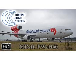 MD-11 PW-4460 HD Pilot Edition Sound Pack for FSX/P3D